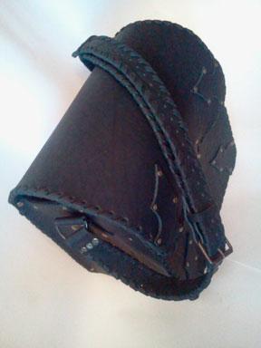 Кожаная сумка (подсумок)
